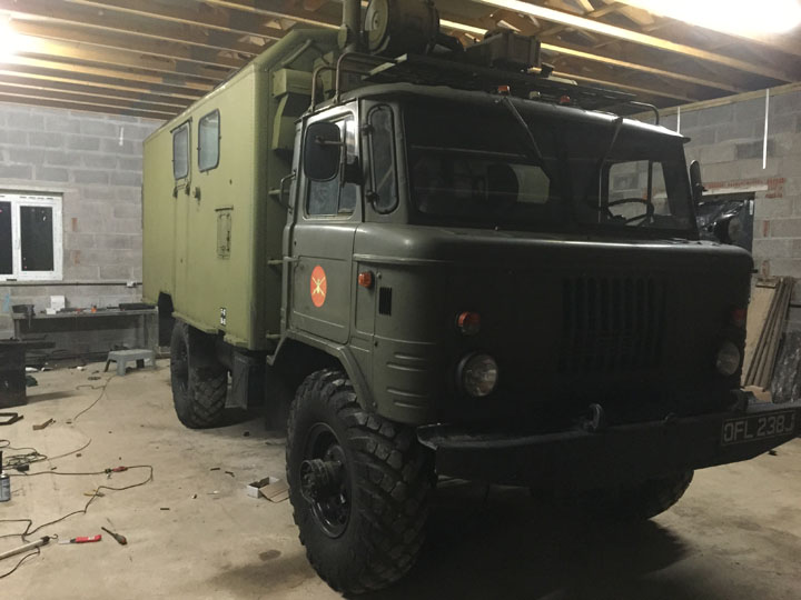 Army Vehicle LPG Conversion Installation