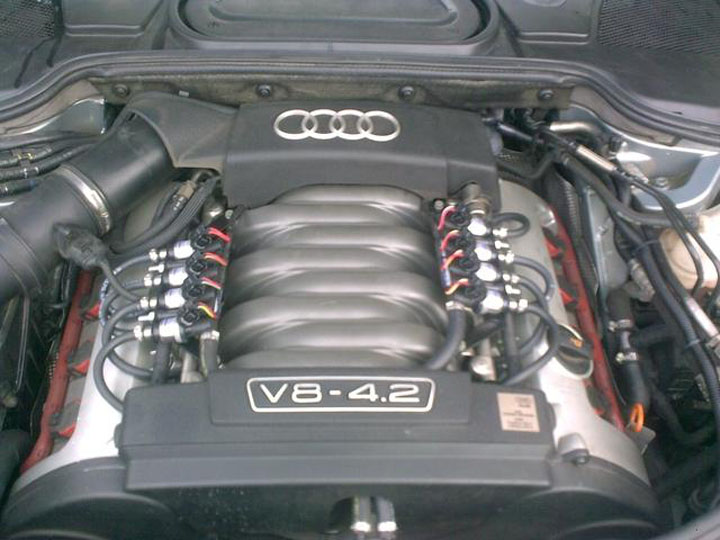 Audi LPG Conversion Installation