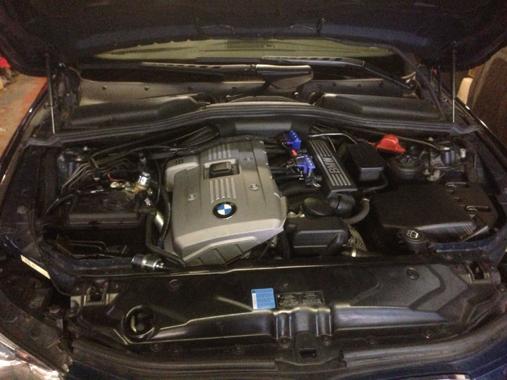 BMW LPG Conversion Installation