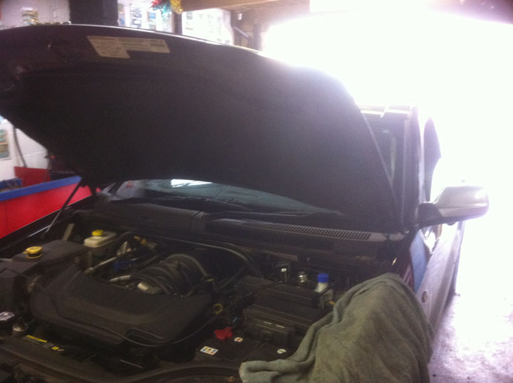 Chrysler LPG Conversion Installation