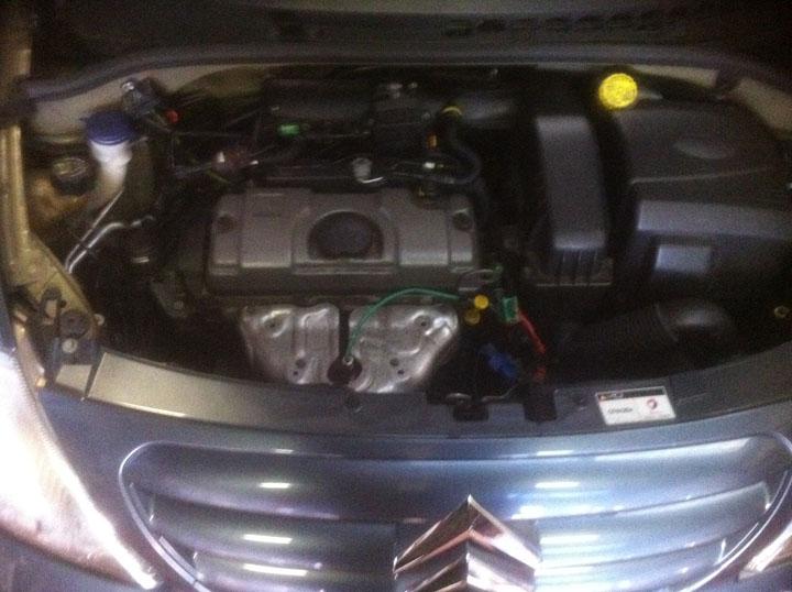 Citroen LPG Conversion Installation