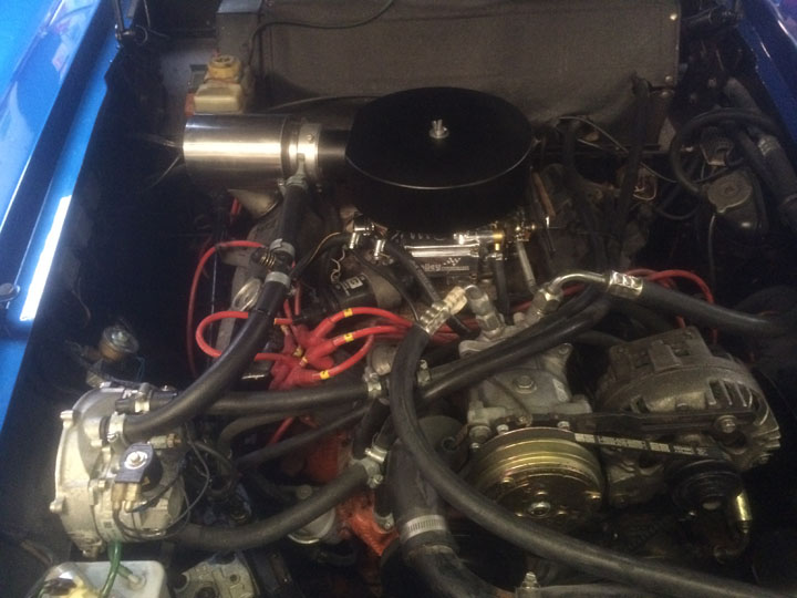 Classic Car LPG Conversion Installation