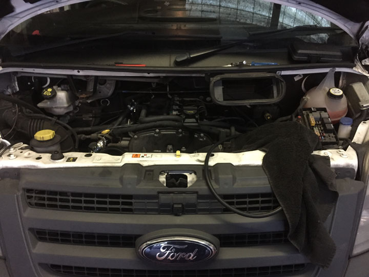Ford LPG Conversion Installation