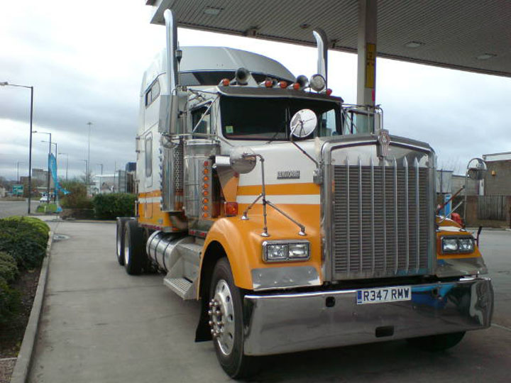 Kenworth Truck LPG Conversion Installation