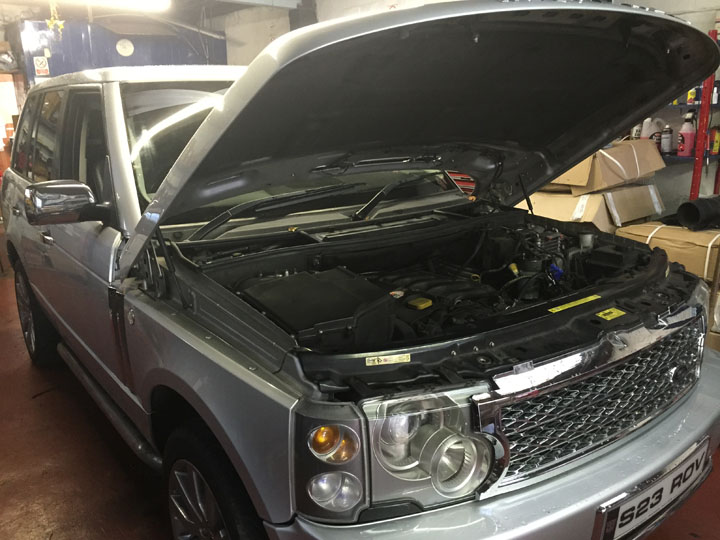 Land Rover LPG Conversion Installation