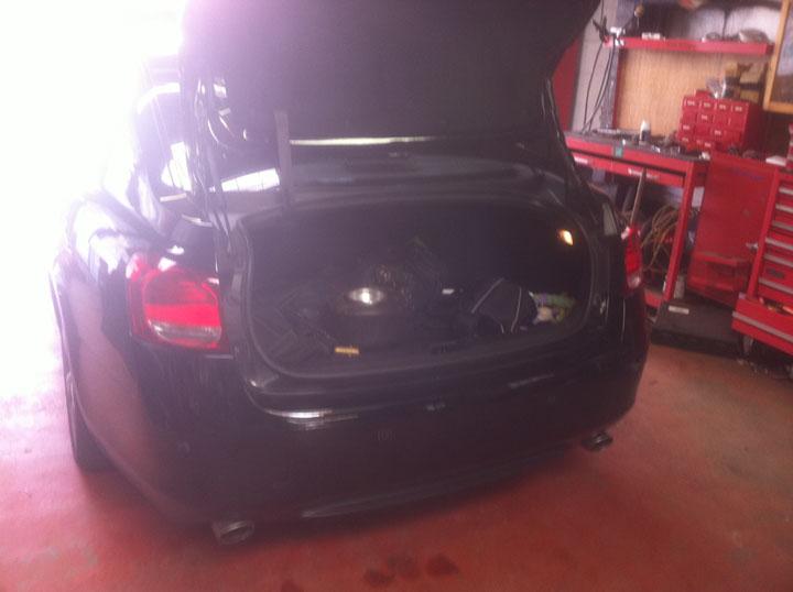 Lexus LPG Conversion Installation