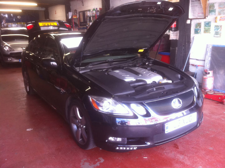 Lexus LPG Conversion Installation