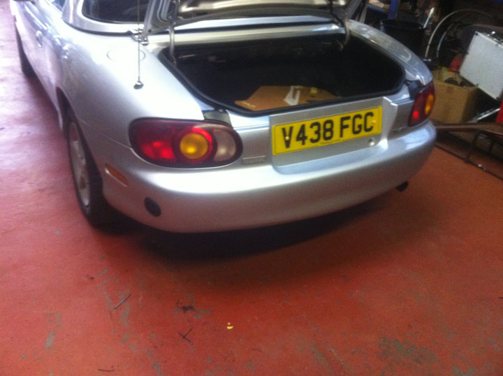 Mazda LPG Conversion Installation