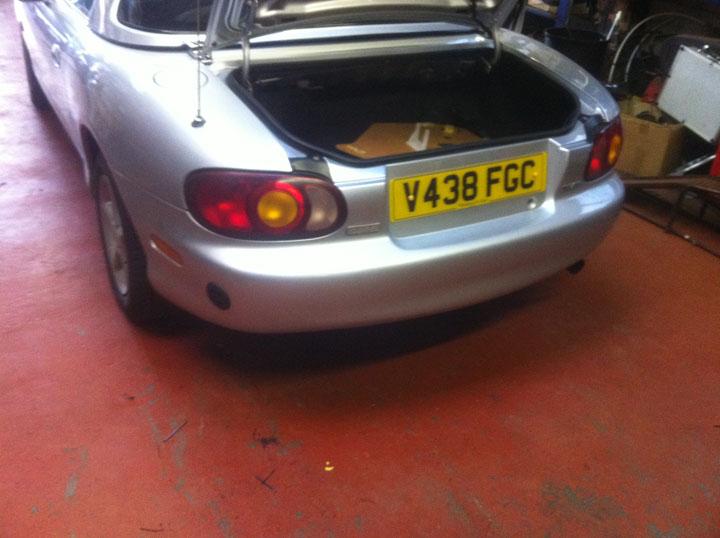 Mazda LPG Conversion Installation