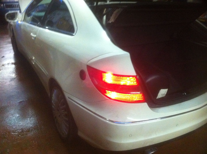 Mercedes Benz LPG Conversion Installation