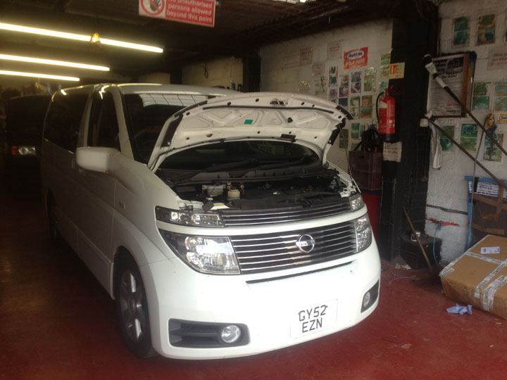 Nissan LPG Conversion Installation