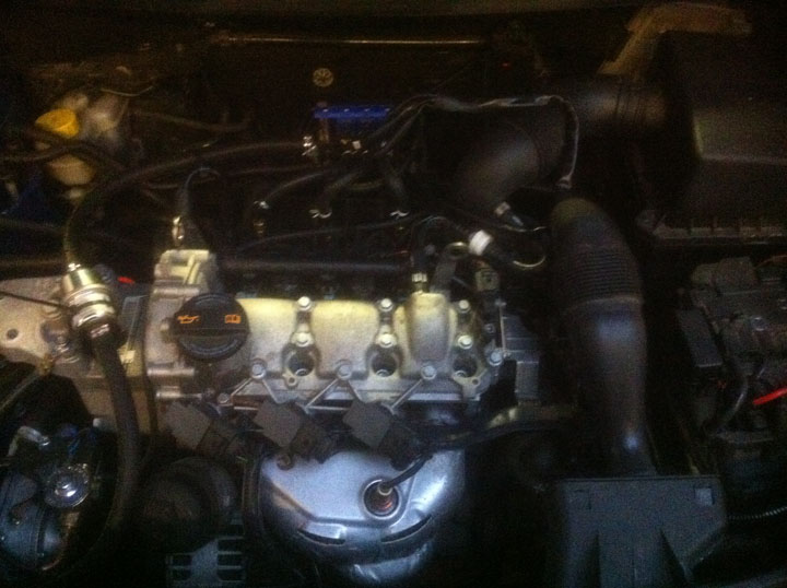 Skoda LPG Conversion Installation