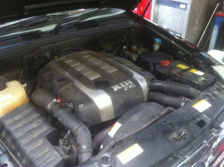SsangYong LPG Conversion Installation
