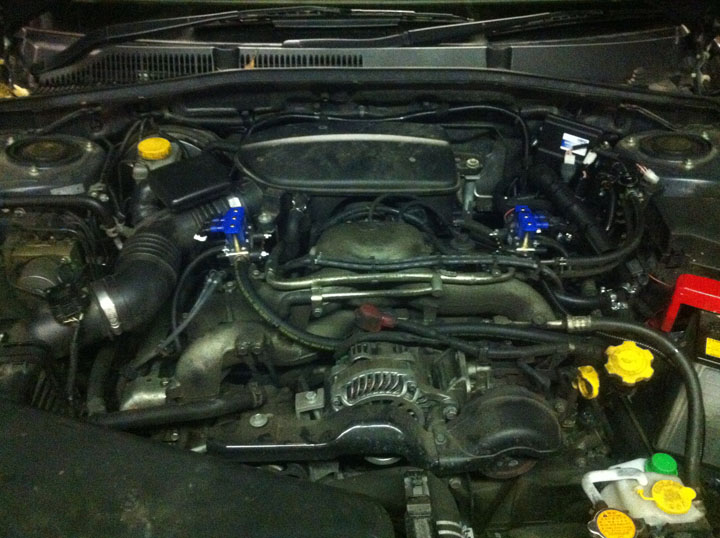 Subaru LPG Conversion Installation