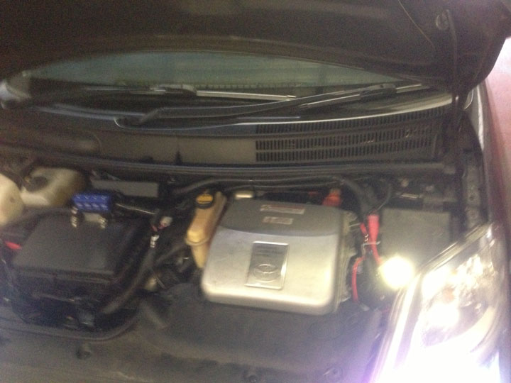 Toyota LPG Conversion Installation