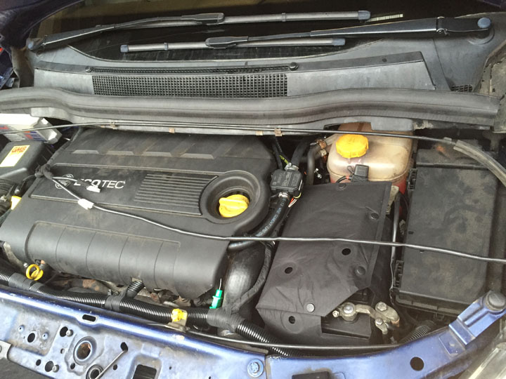 Vauxhall LPG Conversion Installation